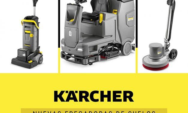 Nuevas fregadoras de suelos Karcher