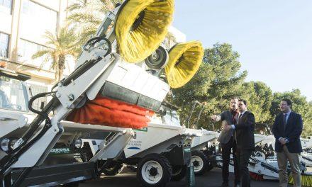 Maquinaria de limpieza para aquellos municipios más pequeños