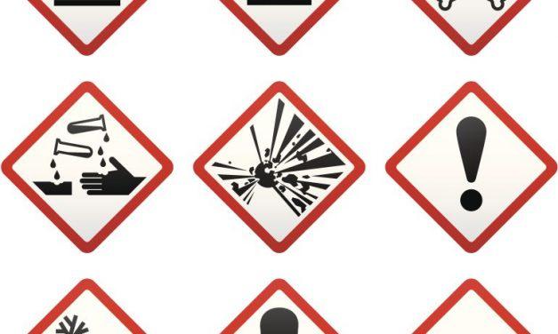 Nuevos pictogramas de productos peligrosos